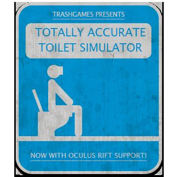 TOTALLY ACCURATE TOILET SIMULATOR. TRASHGAMES